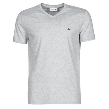 material Men short-sleeved t-shirts Lacoste ROBERT Grey