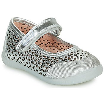 Shoes Girl Ballerinas Pablosky  Silver