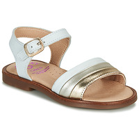 Shoes Girl Sandals Pablosky  White / Gold