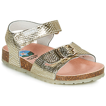 Shoes Girl Sandals Pablosky FINNO Gold