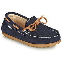 Shoes Boy Loafers Pablosky  Marine / Camel