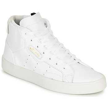 Shoes Women Low top trainers adidas Originals adidas SLEEK MID W White