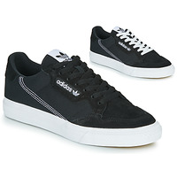 Shoes Low top trainers adidas Originals CONTINENTAL VULC Black / White