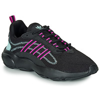 Shoes Women Low top trainers adidas Originals HAIWEE W Black / Violet
