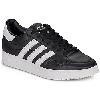 Shoes Low top trainers adidas Originals MODERN 80 EUR COURT Black / White