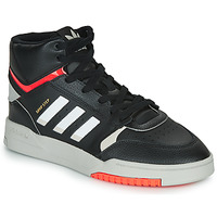 Shoes Men High top trainers adidas Originals DROP STEP Black / White