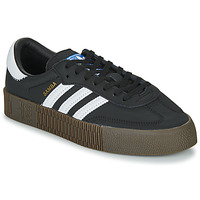 Shoes Women Low top trainers adidas Originals SAMBAROSE W Black / White