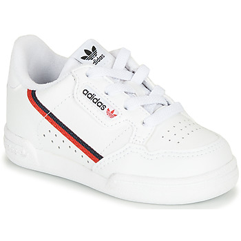 Shoes Children Low top trainers adidas Originals CONTINENTAL 80 I White