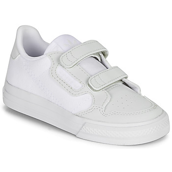 Shoes Children Low top trainers adidas Originals CONTINENTAL VULC CF I White