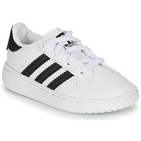 Shoes Children Low top trainers adidas Originals NOVICE EL I White / Black