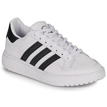 Shoes Children Low top trainers adidas Originals Novice J White / Black
