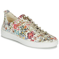 Shoes Women Low top trainers Think TURNA Beige / Red / Green