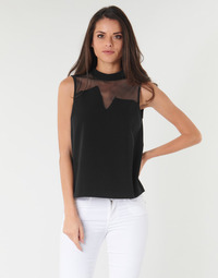 material Women Blouses Guess SL MAYA TOP Black