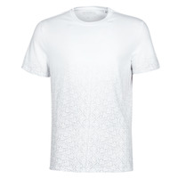 material Men short-sleeved t-shirts Guess CN SS 1000GUESS TEE White