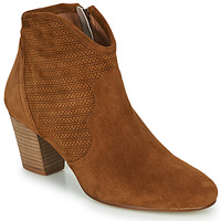 Shoes Women Ankle boots Myma LAMMINO Camel