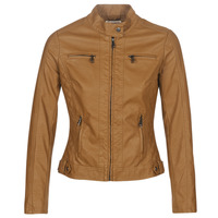 material Women Leather jackets / Imitation leather Moony Mood AW075-CAMEL Camel