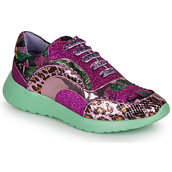 Shoes Women Low top trainers Irregular Choice JIGSAW Violet