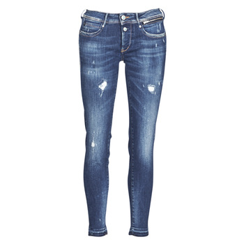 material Women slim jeans Le Temps des Cerises PULP SLIM 7/8 Blue