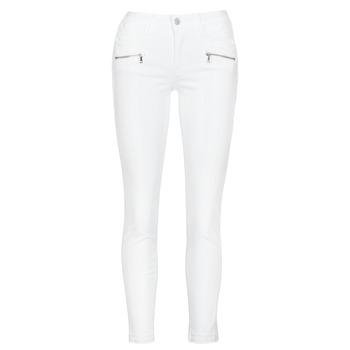 material Women Skinny jeans Le Temps des Cerises KIEV SKINY7/8 White