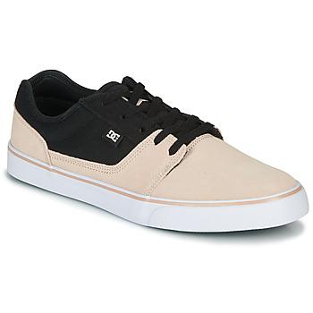 Shoes Men Low top trainers DC Shoes TONIK Beige / Black