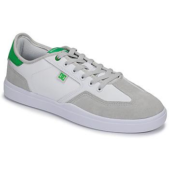 Shoes Men Low top trainers DC Shoes VESTREY White / Green