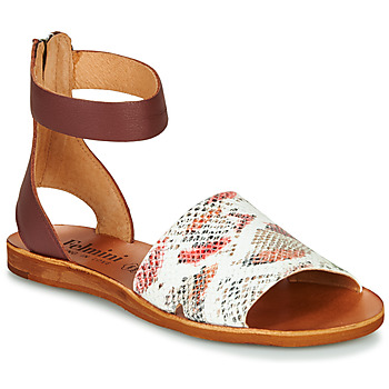 Shoes Women Sandals Felmini CAROLINA 2 Brown / White