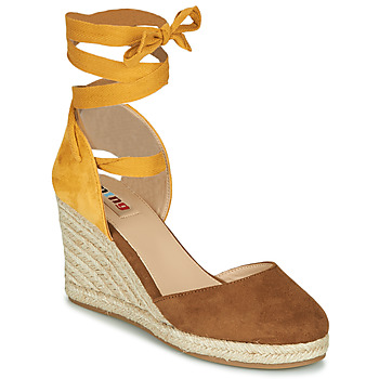 Shoes Women Sandals MTNG  Brown / Mustard