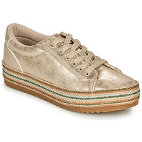 Shoes Women Low top trainers MTNG  Gold