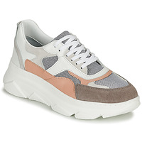 Shoes Women Low top trainers Sweet Lemon ALISHA White / Grey / Nude