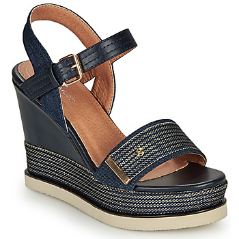 Shoes Women Sandals Tom Tailor 8094302 Marine