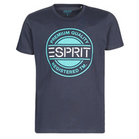 material Men short-sleeved t-shirts Esprit icon t-shirt Marine