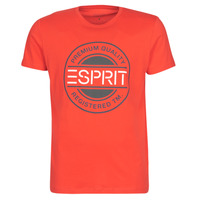 material Men short-sleeved t-shirts Esprit icon t-shirt Red
