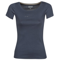 material Women short-sleeved t-shirts Esprit T-Shirts logo Marine