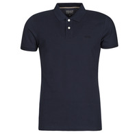 material Men short-sleeved polo shirts Esprit OCS pique polo ss Marine