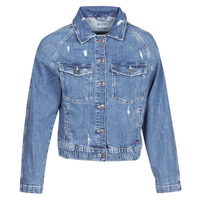 material Women Denim jackets Esprit ESPRILA Blue / Medium