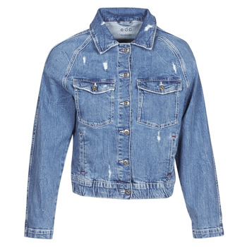 material Women Denim jackets Esprit  Blue / Medium