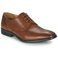 Shoes Men Derby shoes Clarks GILMAN PLAIN Brown