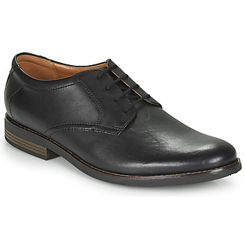 Shoes Men Derby shoes Clarks BECKEN LACE Black