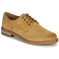 Shoes Men Derby shoes Clarks FOXWELL HALL Beige