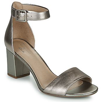 Shoes Women Court shoes Clarks DEVA MAE Silver