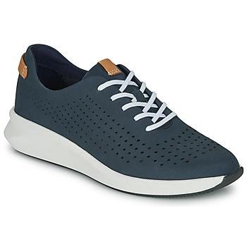 Shoes Women Low top trainers Clarks UN RIO TIE Blue