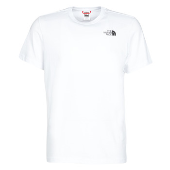 material Men short-sleeved t-shirts The North Face S/S REDBOX White