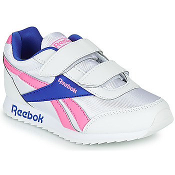Shoes Girl Low top trainers Reebok Classic REEBOK ROYAL CLJOG Grey / Pink
