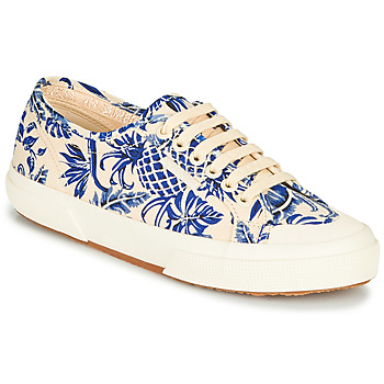 Shoes Women Low top trainers Superga 2294-COTFANW Beige / Blue