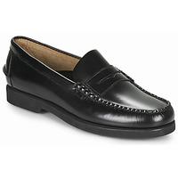 Shoes Men Loafers Sebago DAN POLARIS Black