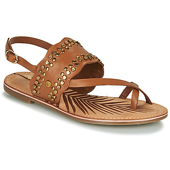 Shoes Women Sandals Pepe jeans MARCH Camel