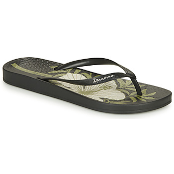 Shoes Women Flip flops Ipanema ANAT TEMAS IX Black / Beige