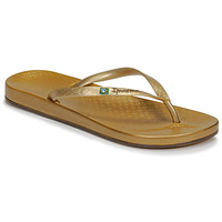 Shoes Women Flip flops Ipanema ANAT BRILLANT III Gold