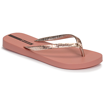 Shoes Women Flip flops Ipanema GLAM II Pink / Gold