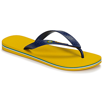 Shoes Men Flip flops Ipanema CLAS BRASIL II Yellow / Blue